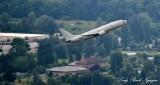 USNAVY P-8 Poseidon Boeing 737 departing Boeing Field 071