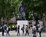 No Respect Churchill at Parliament Square London 175