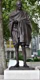 Gandhi at Parliament Square London 197