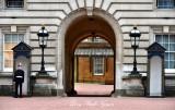 Standing Guard at Buckingham Palace London 333