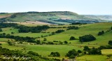 Dorset Landscape near Tyneham Village England 048