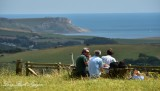 Picnic in Tyneham view point 086