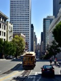 Cable Car on California Street San Francisco 068