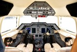 Hawker 900XP cockpit 153