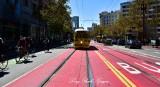 San Francisco Trolley on Market Street 294