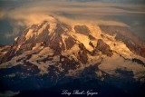 Evening sun on Mount Rainier National Park Washington 541