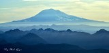Morning on Mt Adams and Cascade Mountains Washington 018