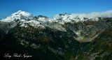 Glacier Peak Tenpeak Mountain Thunder Basin North Cascade Mountains Washington 470