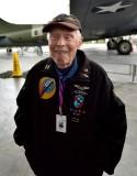 Dick Nelms former B-17G bomber pilot 447th BG 8th AF