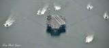 CVN-74 USS John C. Stennis leaving Bremerton Naval Shipyard
