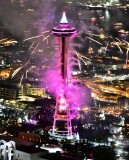 Space Needle on New Year Eve 2016 055a