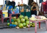 Refreshment Stand outside the Hoi An Market Vietnam 1045