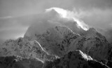 Severe Wind over Three Fingers Mountain of Washington Cascade Mountains 037