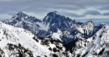 Mount Constance in Olympic Mountains 206