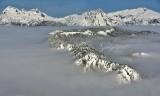 Polallie Ridge Chimney Rock Bears Breast Mountain Mount Hinman 110