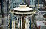 Space Needle and Seattle Monnorails Washington 136