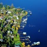 Houses along Lake Washington 055