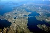 Seattle to Everett Metro Area, Lake Washington, Mercer Island, Floating Bridges, Puget Sound, Whidbey Island, Camano Island 082