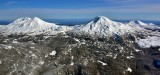Three Sisters Cascade Mountain Range Oregon 675