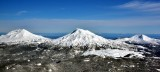 North and South Sisters and Broken Top Three Sisters Oregon 665