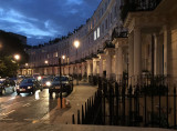 Royal Crescent in the evening, from our front steps