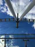 A different view of the London Eye