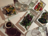Dinner at Ottolenghi - a wonderful way to end the week
