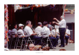 Rossell - Festes Majors 1984 · Actuació de la Banda a la Plaça