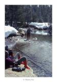 Pirineus · Abril 1979. Mirant al cel, Michel