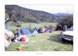 Abril 1981 · Vall del Roncal, Navarra. Toca desfer el campament