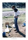 Abril 1981 · Vall del Roncal, Navarra. Angel........ pensatiu