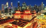 Singapore Skyline 2010 -
