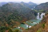 Julong waterfalls.Yunnan,China.