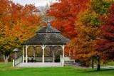 The Kerr Park Gazebo in Autumn