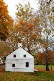 Downingtown Log House in Autumn #2