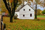 Downingtown Log House in Autumn #1