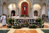 Between Masses at St. Joseph Parish in Downingtown on Easter Sunday