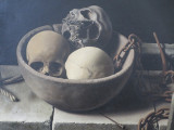 Still life with sculls and chains - Raoul Hynckes - 1934