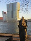 de Rotterdam, a vertical city designed by Rem Koolhaas.