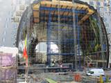 Market Hall under construction
