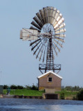 An American windmill in Holland.