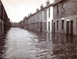 Clyde Street - 1953 flood