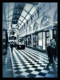 Checkered mall