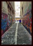 Graffiti lane way