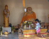 Wat Khao Phra Bat Pattaya Shrine Bodhisattva and Buddha Images (DTHCB0062)