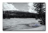 Frozen Lake, Yellowstone National Park