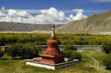 137 - Samye Monastery, Red Stupa