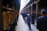 153 - Pilgrims in the Jokhang, Lhasa