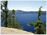 Crater Lake at it's bluest!