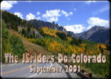 The JSriders' first Colorado ride